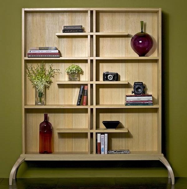 étagère-murale-design-une-étagère-en-bois