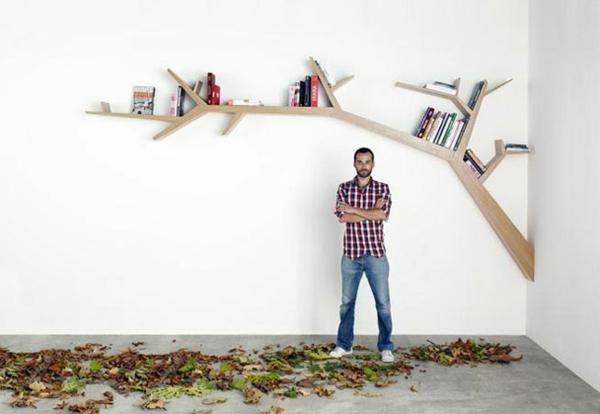 étagère-murale-design-une-étagère-murale-arbre