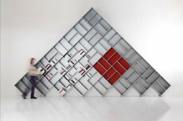 étagère-murale-design-une-bibliothèque-unique