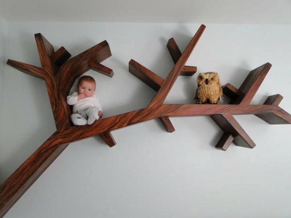 étagère-murale-design-une-branche-d'arbre