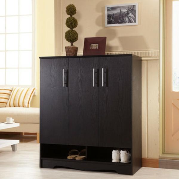 armoire-a-chaussure-noir