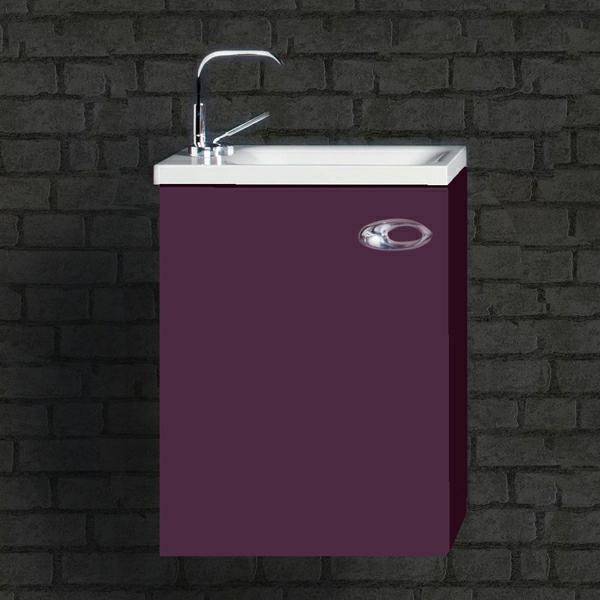 violet lavabo