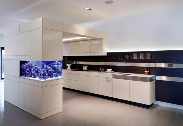 Aquarium-ameublement-futuriste