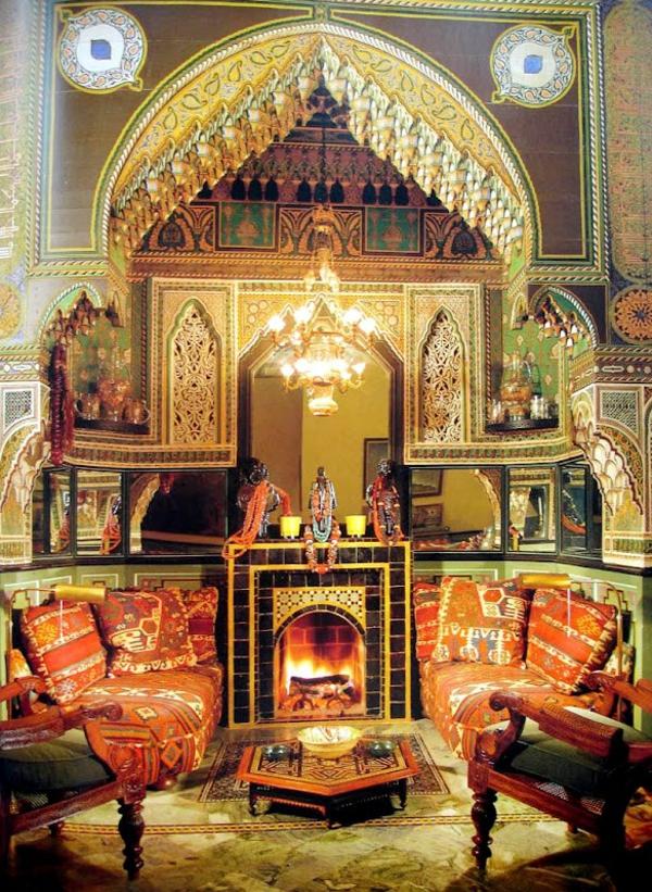 Décoration-Salon-Marocain