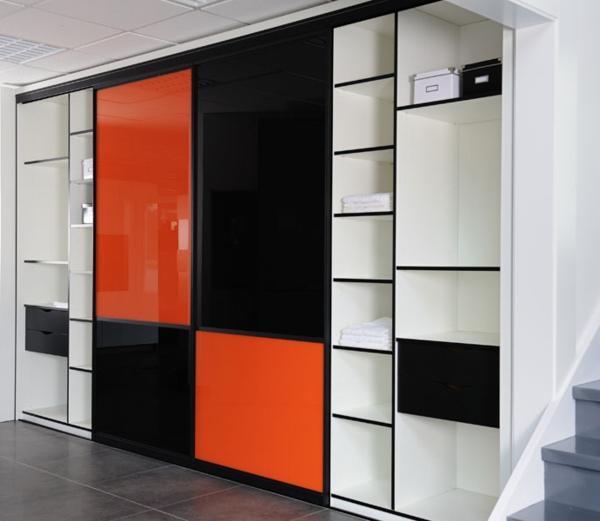 Portes-de-placard-en-orange