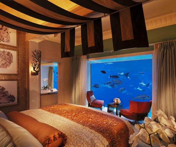 d co chambre aquarium. Black Bedroom Furniture Sets. Home Design Ideas