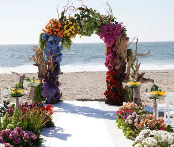 faire d coration floral de mariage