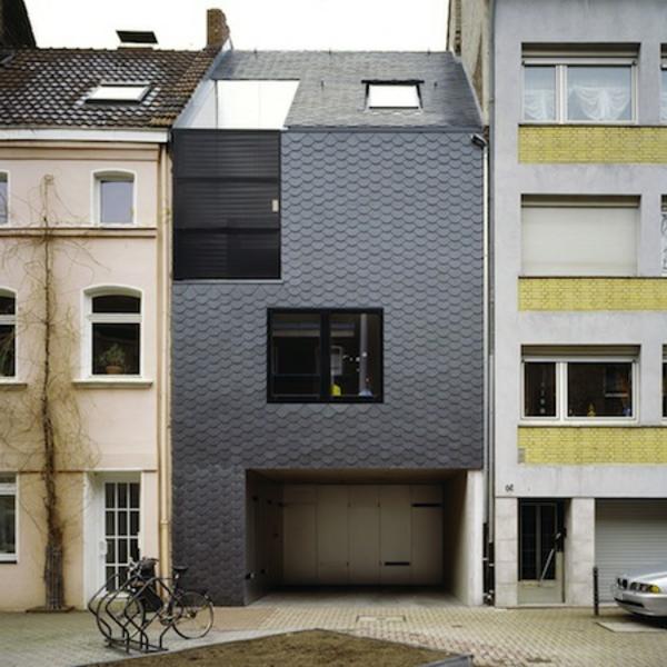 La maison et architecture du ville - Maison de ville architecture contemporaine ...