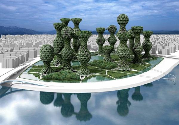 architecture-utopique-vert