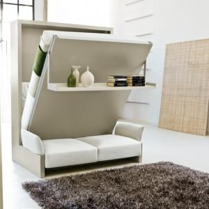 L' armoire lit escamotable pour plus d'espace