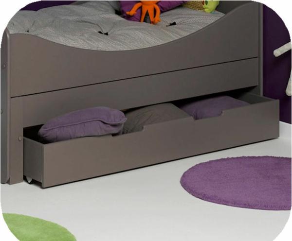 gris-design-pour-le-lit-évolutif