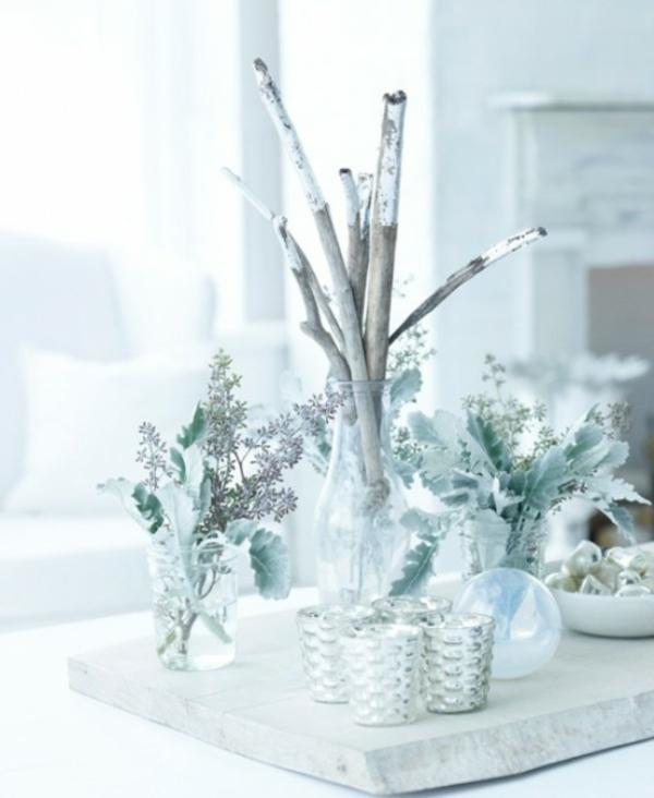 blanc-déco-de-table-de-Noël