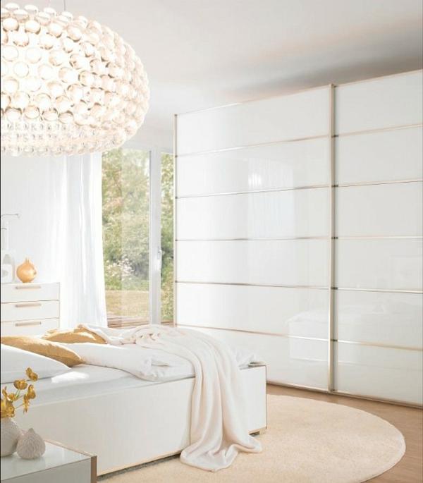 blanc-design-pour-la-chambre-à-coucher
