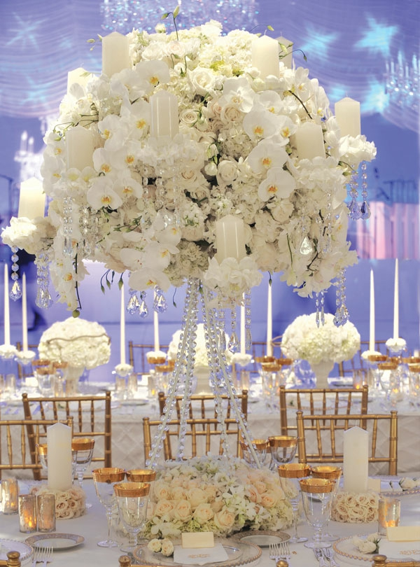 blanc-dusse-décoration-floral-de-mariage