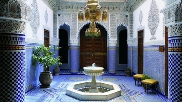 bleu-décoration-marocain