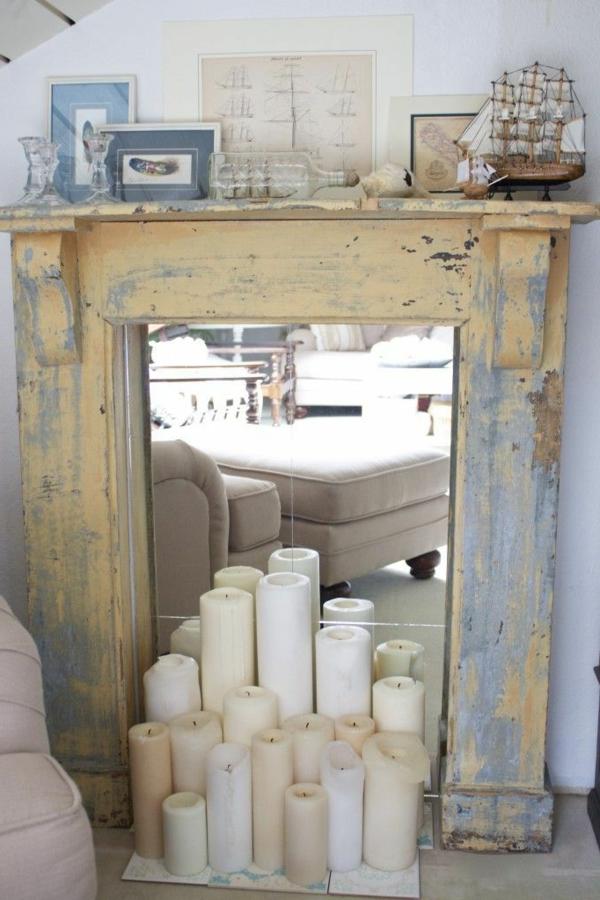 La fausse cheminée décorative – cool idée!