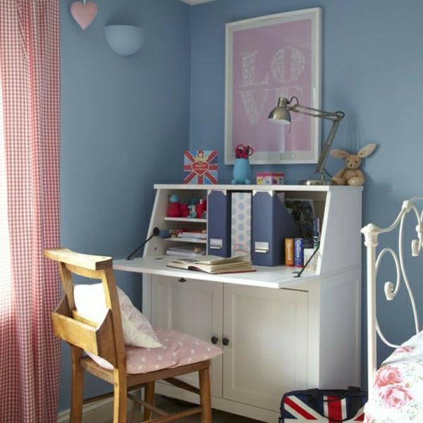 Le bureau escamotable d cisions pour les petits espaces for Bedroom ideas for teenage girls uk