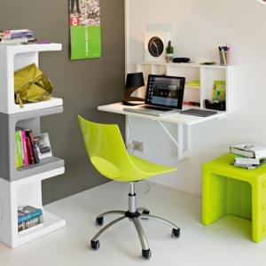 Le bureau escamotable - décisions pour les petits espaces