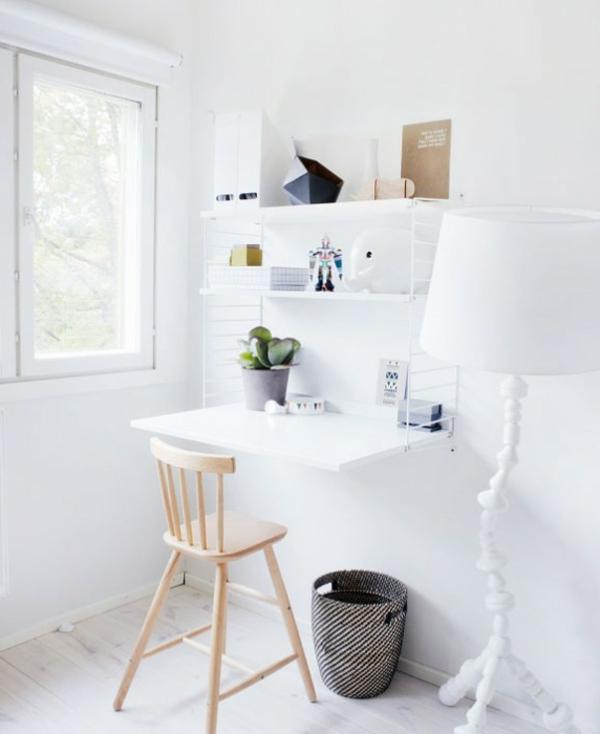 bureau-escamotable-intérieur-blanc