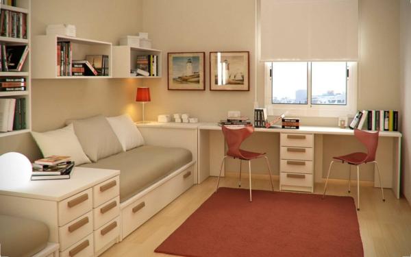 bureau-suspendu-chambre-à-coucher