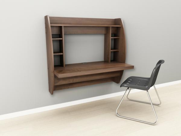 bureau-suspendu-couleur-chocolat-chaise-en-acier-et-plastique