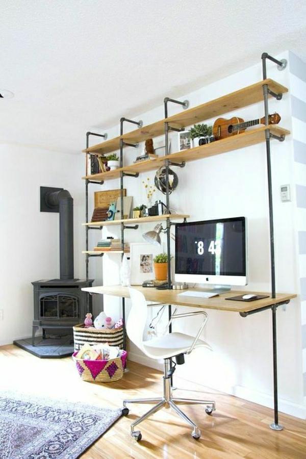 un burequ suspendum intérieur scandinave et un loft design