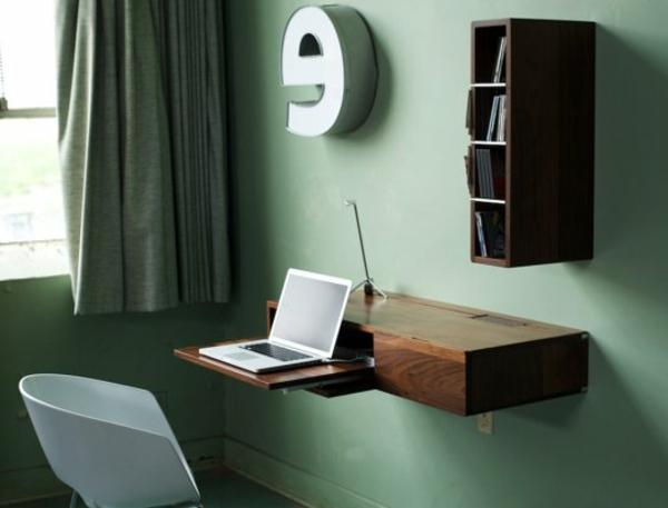 bureau suspendu idees interieur accueil design et mobilier. Black Bedroom Furniture Sets. Home Design Ideas