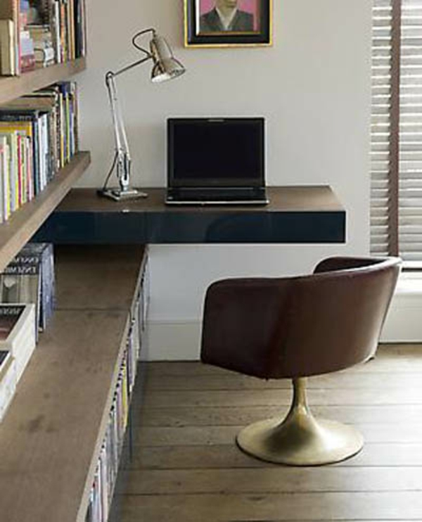 bibliotheque avec bureau integre maison design. Black Bedroom Furniture Sets. Home Design Ideas