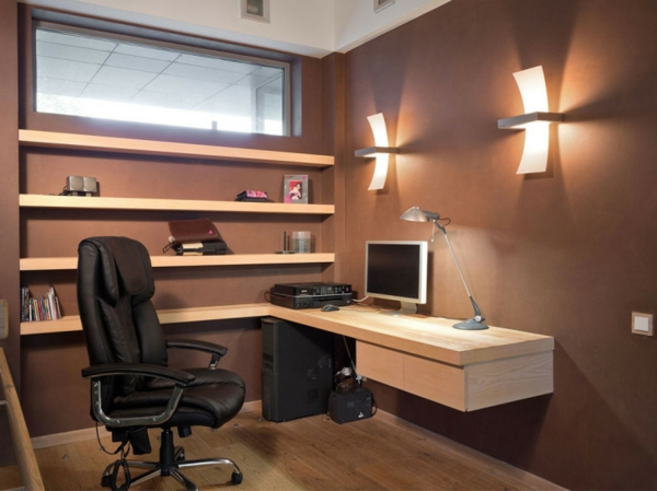 Designs uniques de bureau suspendu for Bureau 2 metres