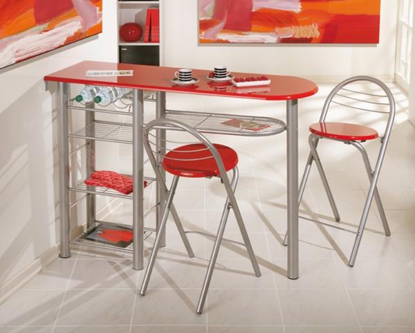 chaise-de-bar-rouge-chaises-pliantes