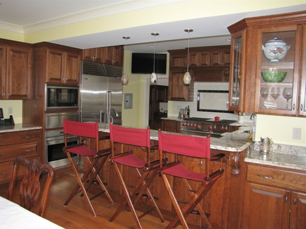 chaise-de-bar-rouge-chaises-repliables-en-bois-et-toile-rouge