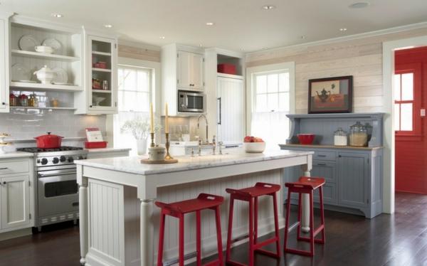 chaise-de-bar-rouge-cuisine-splendide-avec-des-chaises-rouges-de-bar