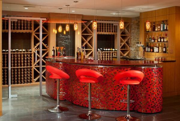 chaise-de-bar-rouge-mobilier-moderne