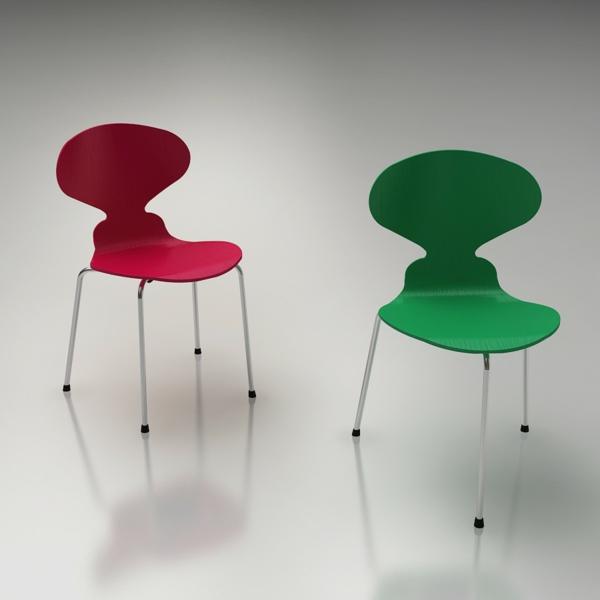 chaise-fourmi-deux-chaises
