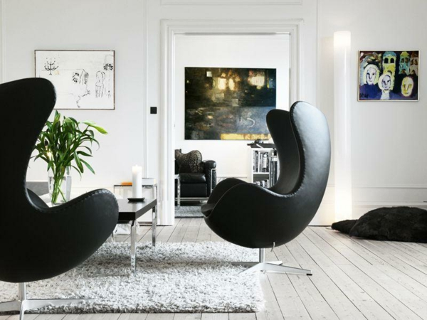 le fauteuil design scandinave. Black Bedroom Furniture Sets. Home Design Ideas
