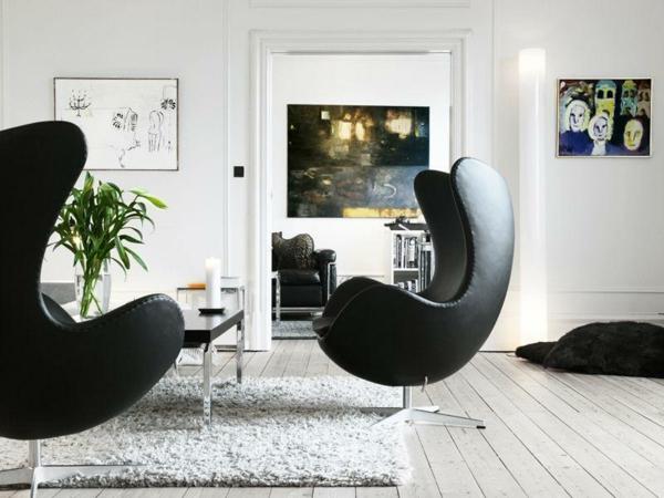 chaise-oeuf-pour-la-maison-moderne-en-noir-slassique-et-élélgant