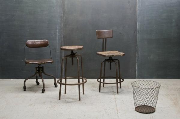chaises-industrielles-chaises-en-bois-et-métal