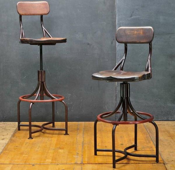 chaises-industrielles-chaises-hautes-originales