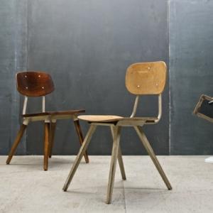 Chaises industrielles - designs vintage et modernes