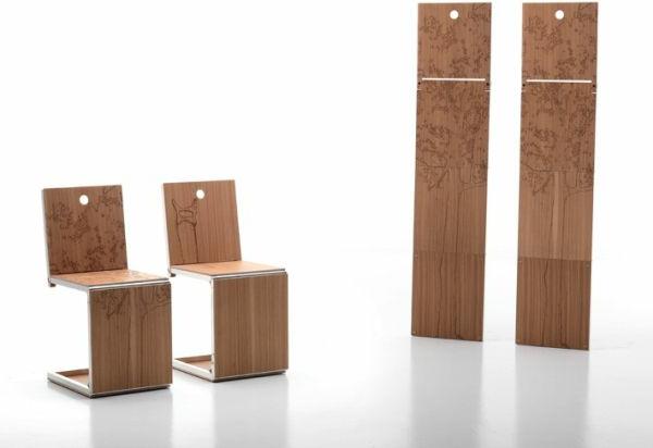 chaises-pliantes-épargnant-d'espace