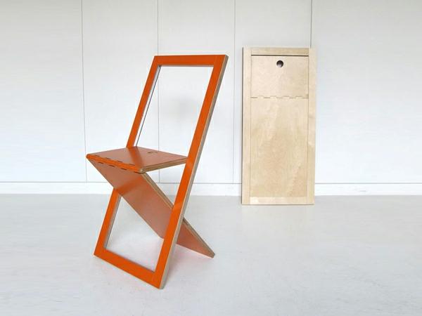 chaises-pliantes-chaise-à-un-encadrement-rectangulaire