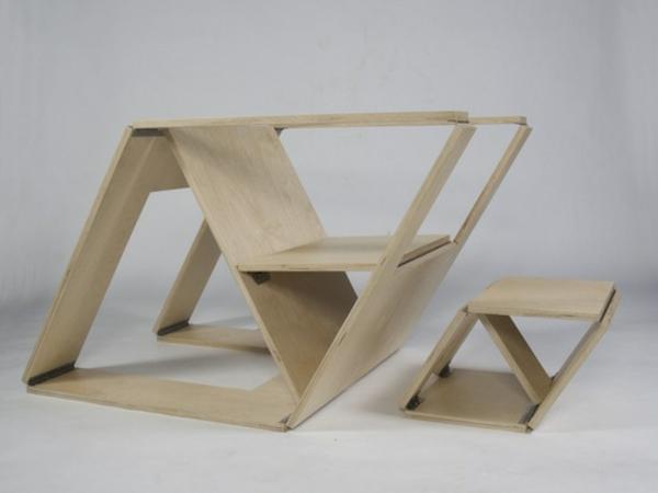 chaises-pliantes-chaise-en-bois-clair