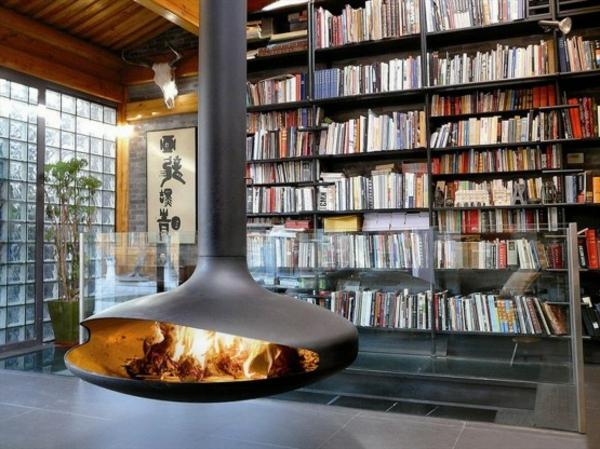 cheminée-suspendue-acier-inoxydable