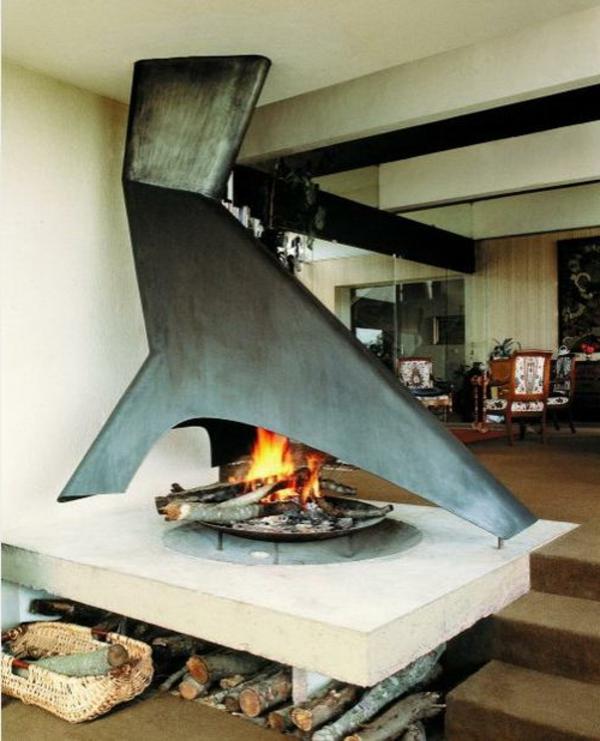 cheminée-suspendue-design-original