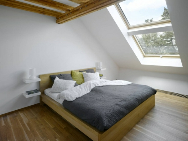 Les lits en bois moderne - Meuble suspendu et flottant idees design moderne par lago ...