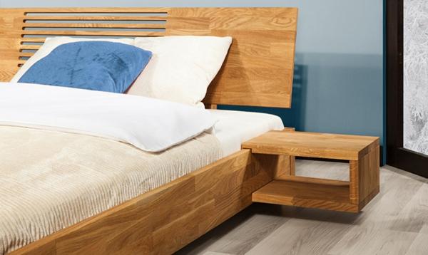 chevet-suspendu-lié-à-l'encadrement-du-lit