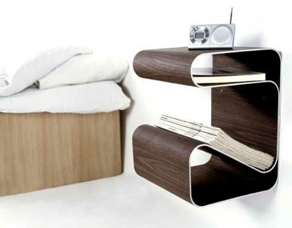 chevet-suspendu-table-de-chevet-design-créatif