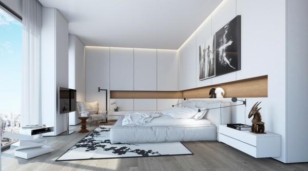 chevet-suspendu-une-grande-chambre-blanche-table-de-chevet-flottante