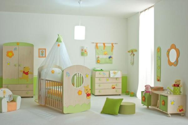 Le ciel de lit bébé protège le bébé en décorant sa chambre ...