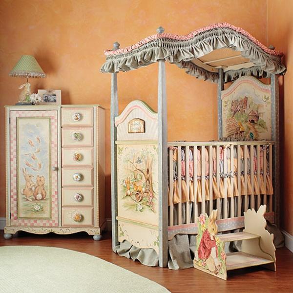 ciel-de-lit-bébé-chambre-d'enfant-magnifique